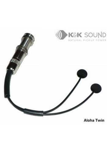K&K K&K Aloha Twin Dual-Head Internal Pickup for Ukulele