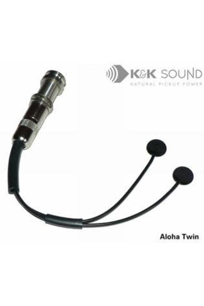 K&K Aloha Twin Dual-Head Internal Pickup for Ukulele