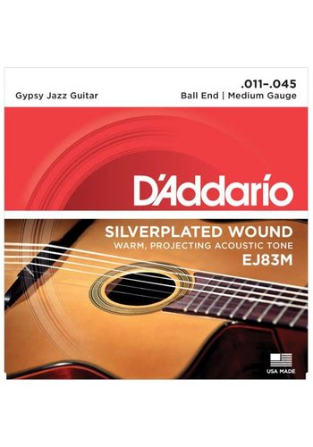 D'addario Daddario Gypsy Jazz Strings EJ83M