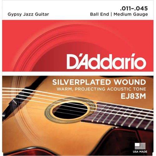 D'addario Daddario Gypsy Jazz Strings EJ83M