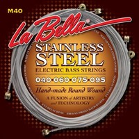 LaBella M40 Stainless Steel Round Wound Bass Strings 4-String Extra Light 40-95