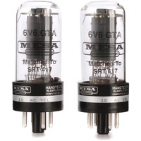 Mesa Boogie 6V6 STR 417 Power Tubes Matched Duet