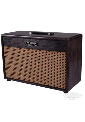 Mesa Boogie Mesa Boogie 2x12 Lone Star Cabinet AAA Maple Charcoal - Wicker Grille
