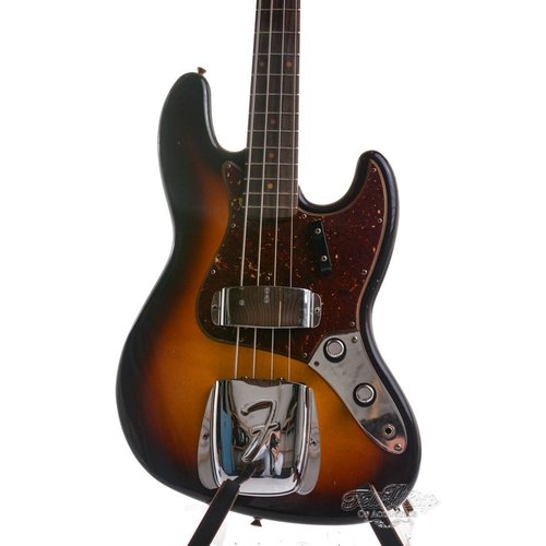 Fender Custom Fender Custom Shop 60s Jazz bass RW Journeyman F3S
