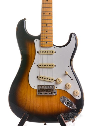 Fender Custom Fender 1955 Stratocaster Relic Limited Edition 2-Tone Sunburst 2015