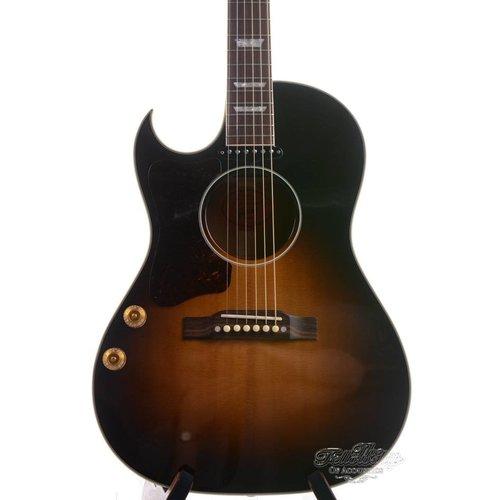 Gibson Gibson  CF100E Vintage Sunburst Lefty 2008