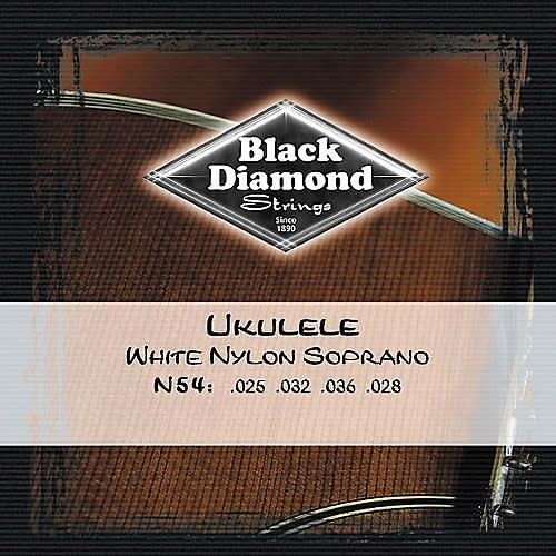 Black Diamond Strings Black Diamond Strings N54 Ukulele