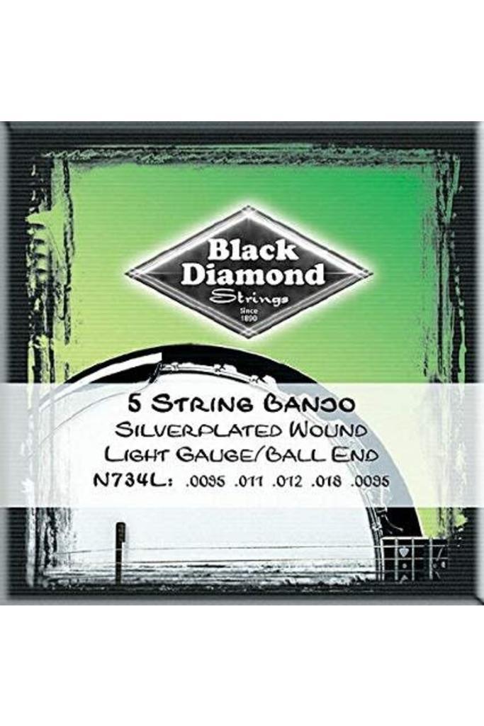 Black Diamond Strings N734L Banjo Ball End Light