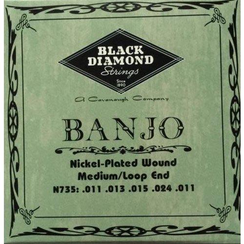 Black Diamond Strings Black Diamond Strings N735 Banjo Medium