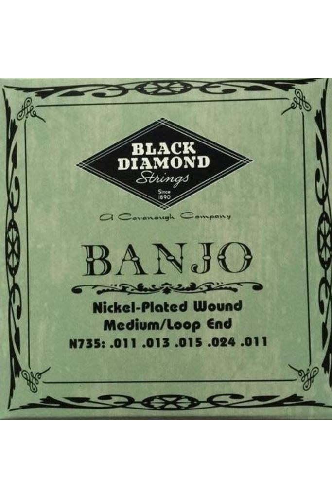 Black Diamond Strings N735 Banjo Medium