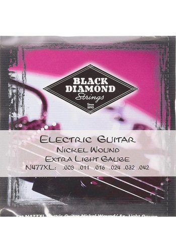 Black Diamond Strings Black Diamond Strings N477XL .009 - .042 Electric