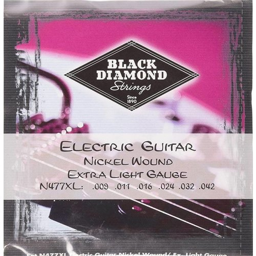 Black Diamond Strings Black Diamond Strings N477XL .009 - .042 Electric