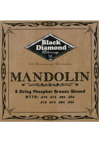 Black Diamond Strings Black Diamond Strings N770 Mandoline Light
