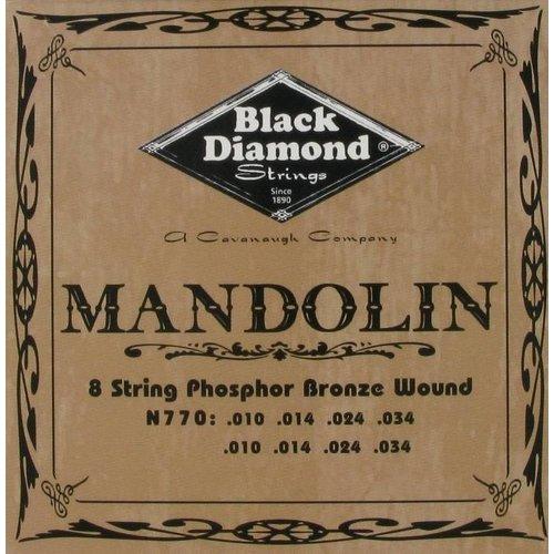Black Diamond Strings Black Diamond Strings N770 Mandoline Light