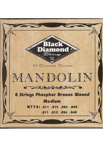 Black Diamond Strings Black Diamond Strings Mandolin N774 Medium
