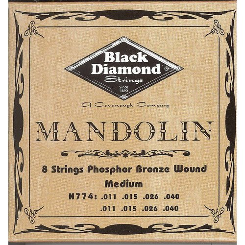 Black Diamond Strings Black Diamond Strings Mandolin N774 Medium