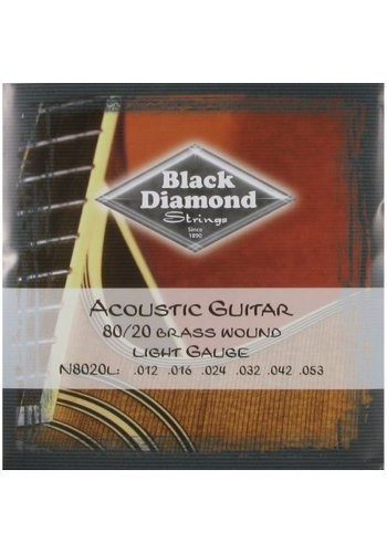 Black Diamond Strings Black Diamond Strings N8020L Acoustic .012-.053