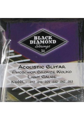 Black Diamond Strings Black Diamond Strings N600L .012-.053 Acoustic