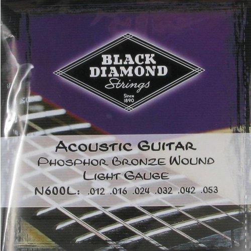 Black Diamond Strings Black Diamond Strings N600L .012-.053 Acoustic