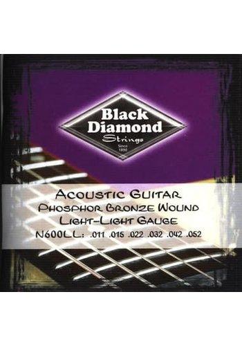 Black Diamond Strings Black Diamond Strings N600LL .011-.052 Light Acoustic