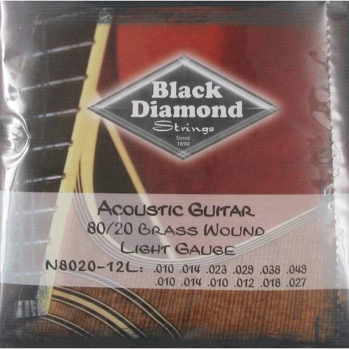 Black Diamond Strings Black Diamond Strings N8020-12L 12-String Acoustic