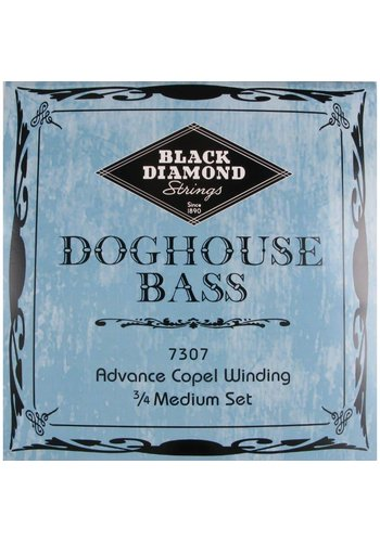 Black Diamond Strings Black Diamond Strings Doghouse 7307 Bass Set Med 3/5