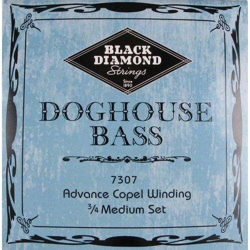 Black Diamond Strings Black Diamond Strings Doghouse 7307 Bass Set Med 3/5