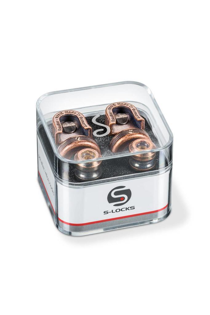 Schaller S-Locks Strap locks Vintage Copper