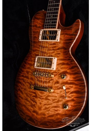 Brian Moore Brian Moore Custom shop DC1 USA Quilt flame Single cut LP 1999