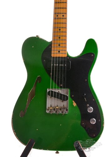 Fender Custom Fender 1950s Thinline Telecaster Relic Lime Green 2016