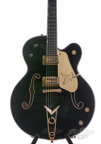 Gretsch Gretsch Masterbuilt G6136CS 59 Black Falcon Custom Shop Relic Stephen Stern