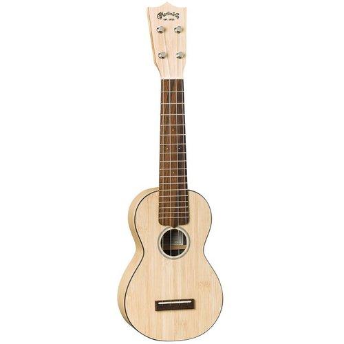 Martin Martin 0X Soprano Ukulele Bamboo Natural