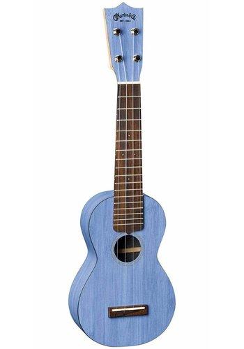 Martin Martin 0X Soprano Uke Bamboo Blue