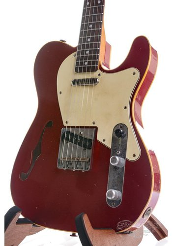 Haar Haar Traditional T Thinline Candy Apple Red Rosewood