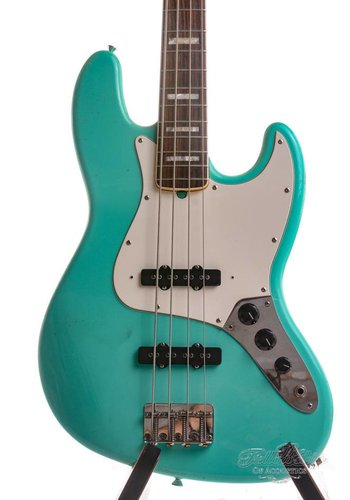 Fender Custom Fender 64 Jazz Bass Custom Shop Seafoam Green Relic 2010