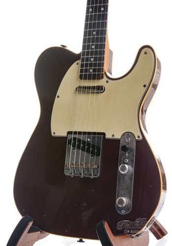 Haar Haar Traditional T Double Bound Maroon Red Rosewood Aged