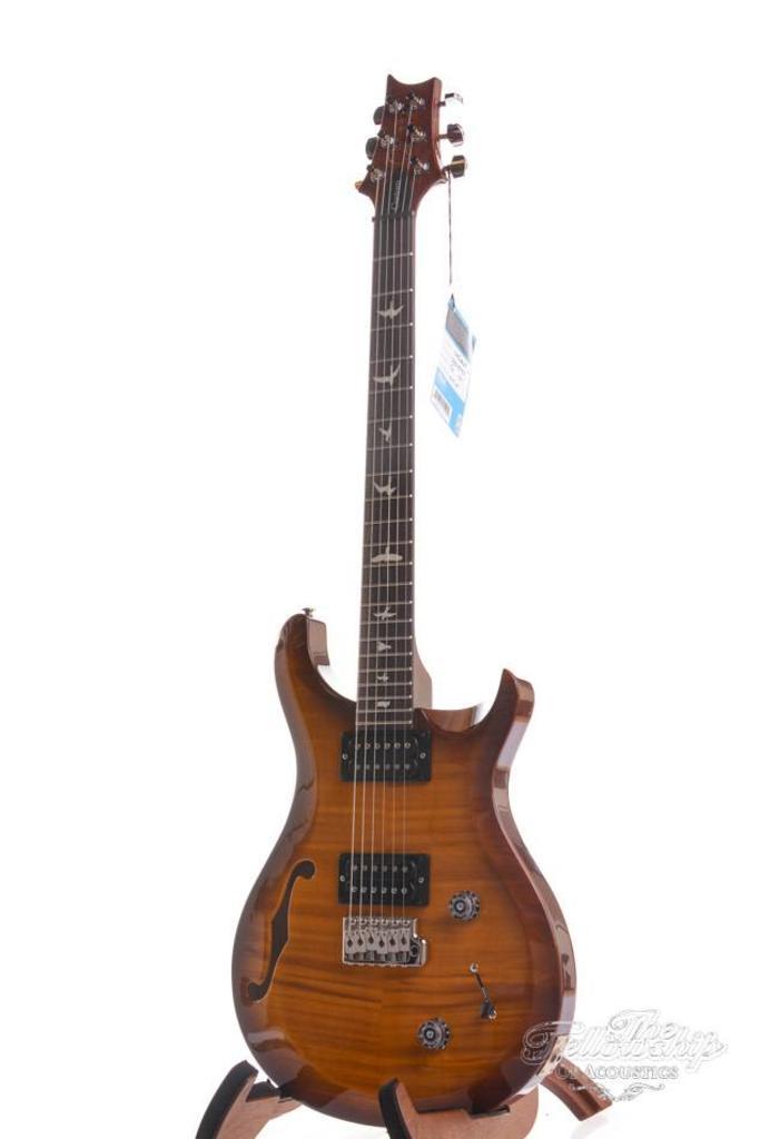PRS S2 Custom 22 Semi-Hollow Violin Amber Sunburst