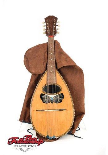 gagliano Giuseppe Gagliani Italian Bowlback Mandolin early 1900s