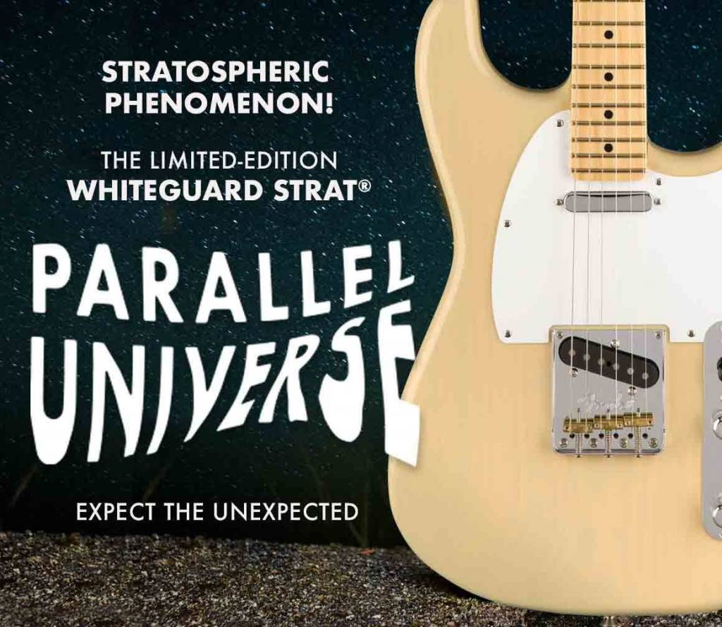 Fender 2018 Limited Edition Whiteguard Strat at TFOA