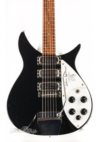 Rickenbacker Rickenbacker 325JL Limited Edition John Lennon Short Scale Jetglo 1991