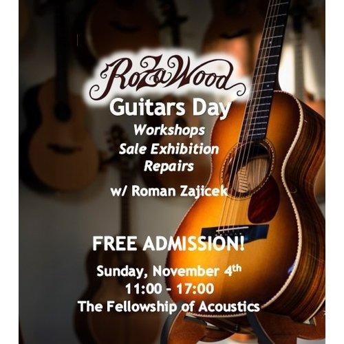 Rozawood Guitars Day 04-11-2018