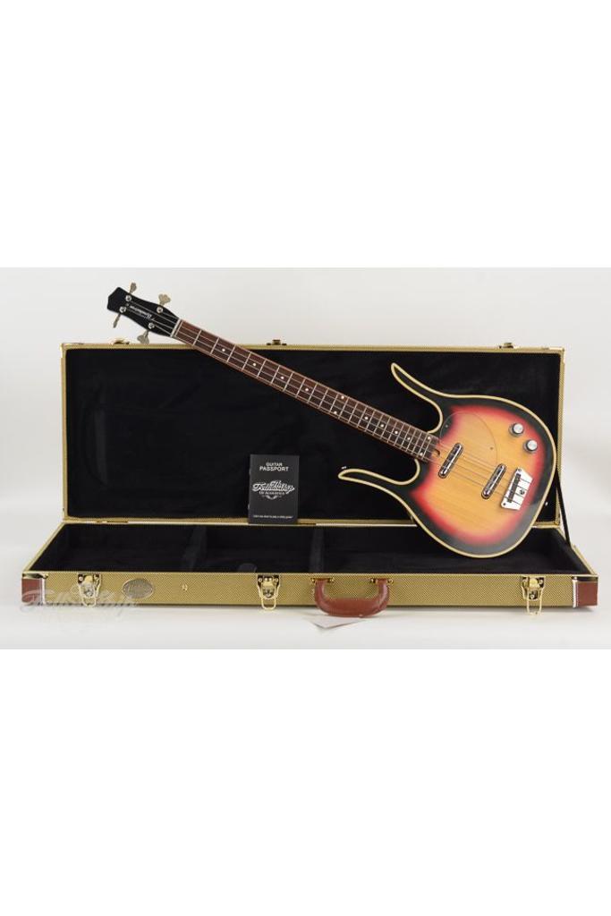 Dynelectron Longhorn 4 bass sunburst 1960s