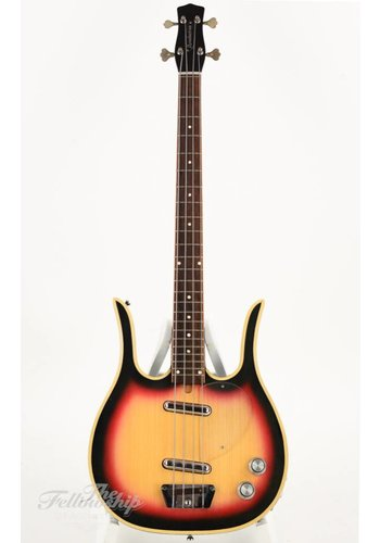 Dynelectron Dynelectron Longhorn 4 bass sunburst 1960s