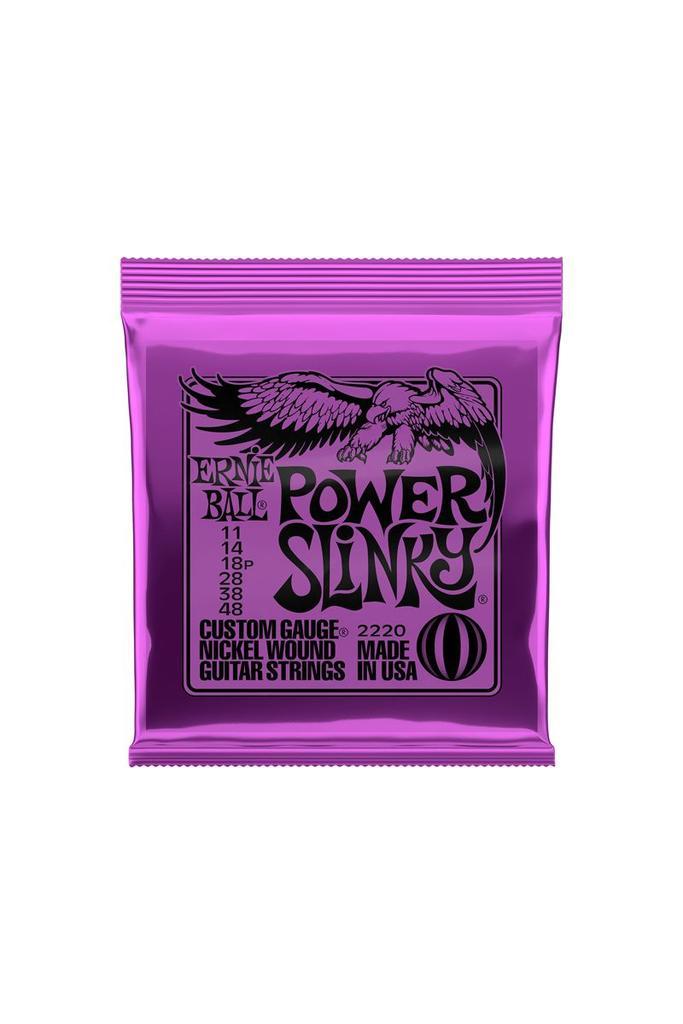 Ernie Ball 2220 .011-.048 Power Slinky Custom Gauge Strings