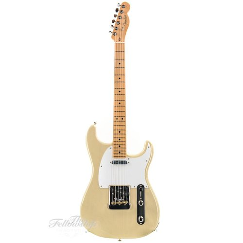 Fender Fender Whiteguard Strat Limited Edition  Maple Neck Vintage Blonde