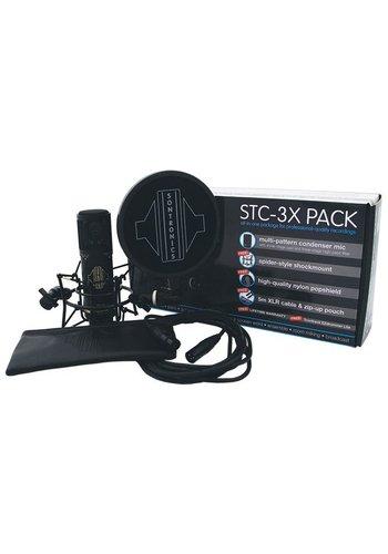 Sontronics Sontronics STC-3X Pack Black Condensator Microphone Set