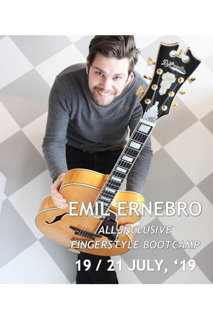 Emil Ernebro Fingerstyle Bootcamp 19-07 / 21-07 (SOLD OUT)
