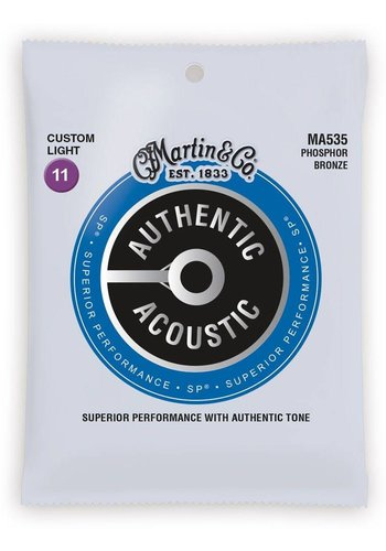 Martin Strings Martin Authentic Acoustic Strings SP Custom Light 0.11-0.52 MA535