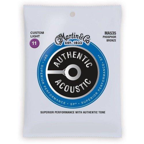 Martin Strings Martin Authentic Acoustic Strings SP Custom Light 0.11-0.52 MA535