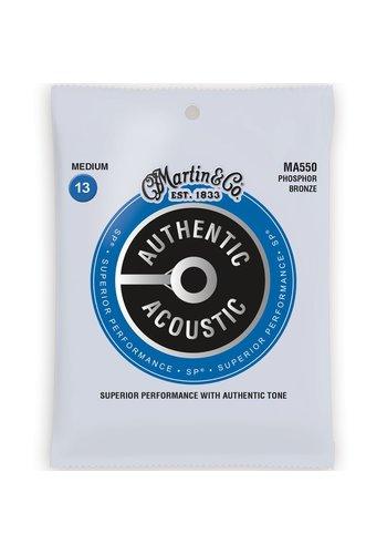 Martin Strings Martin MA550 Authentic Phosphor Bronze Medium 13-56